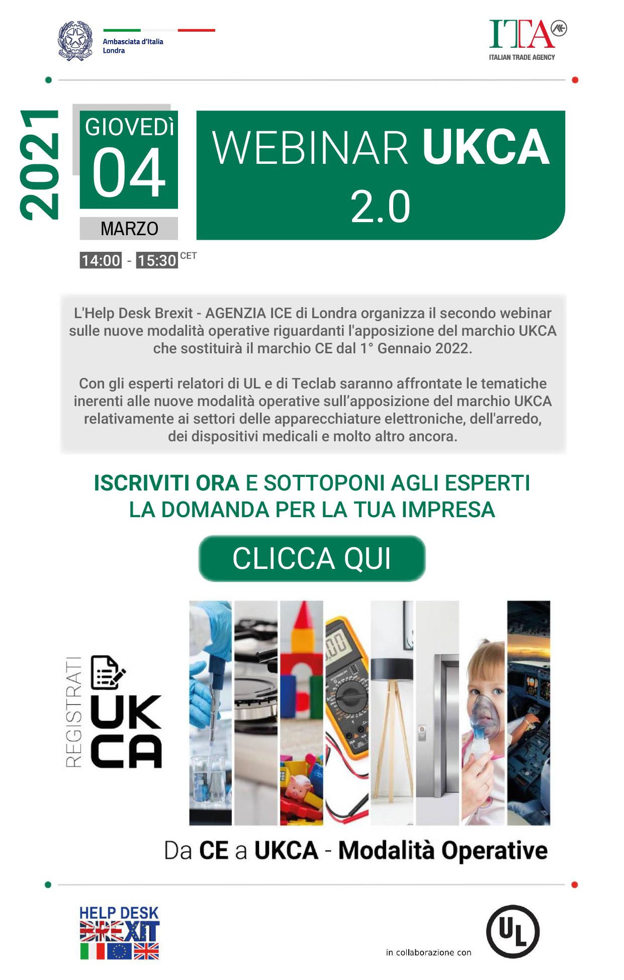 4 marzo 2021 Webinar UKCA 2.0